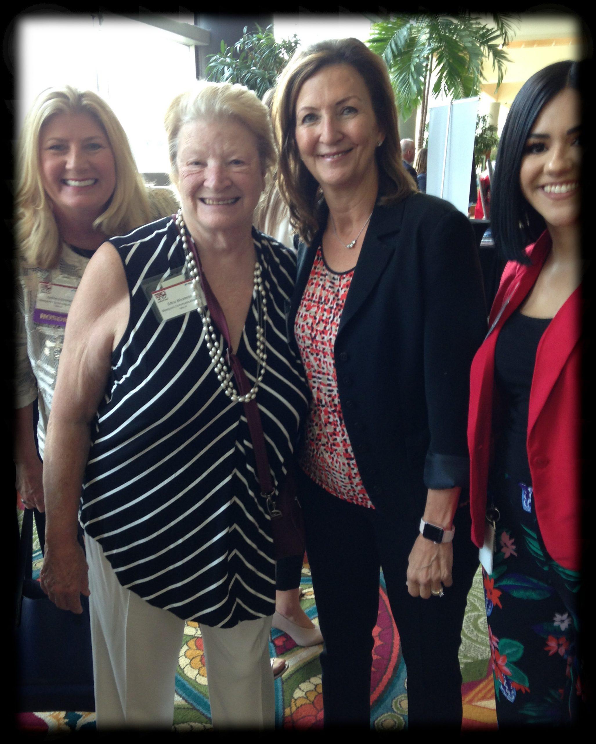 Kathie, Edna, Friend, Andrea
