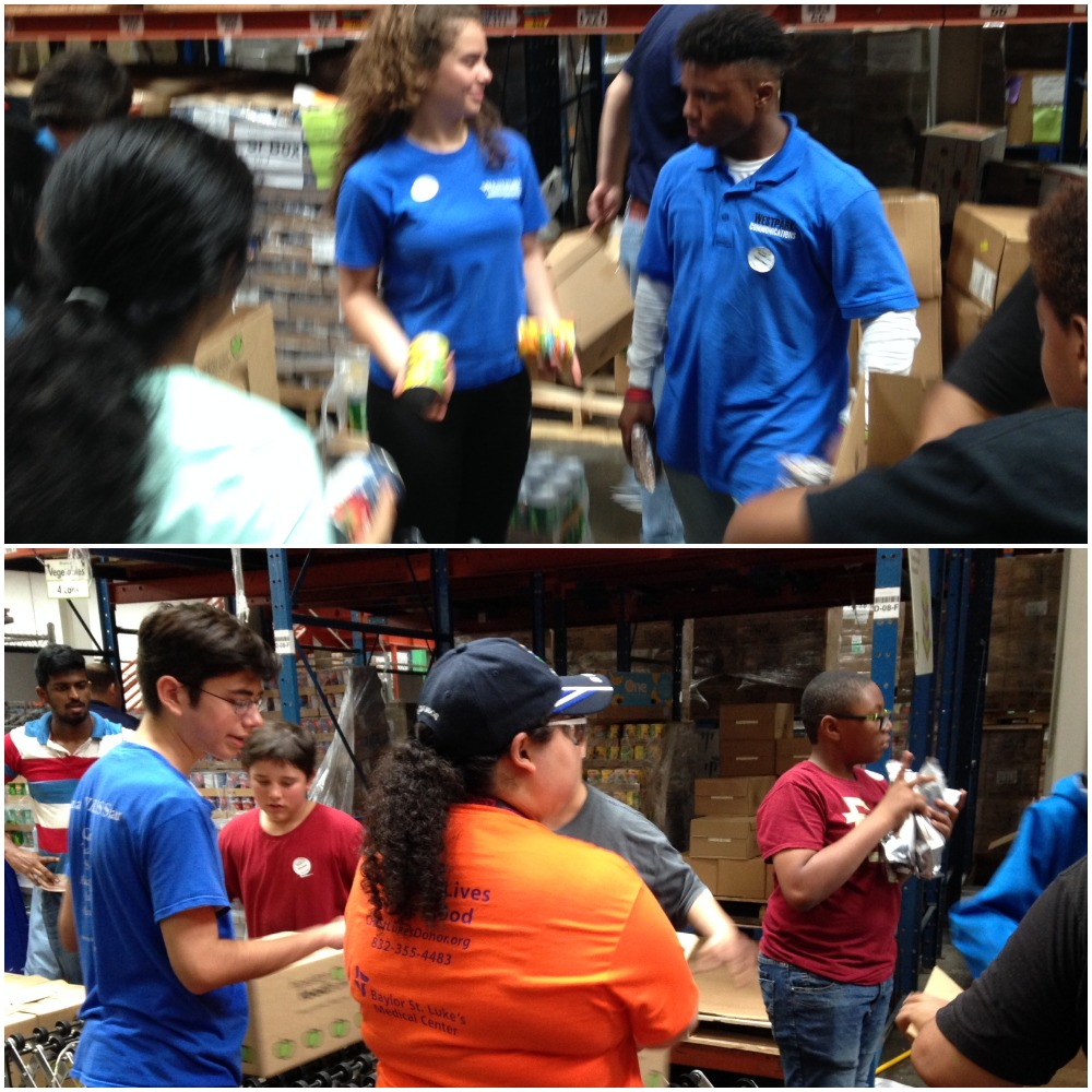 Houston Food Bank Distribution with Westpark Employees