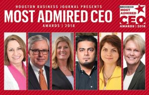 Houston Business Journal Most Admired CEO